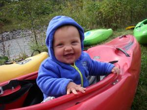 Jakob im Boot